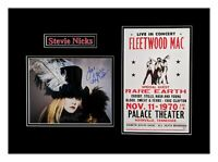 Stevie Nicks Original Autograph Matted and Framed Ready to Hang