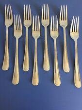 Henckels Cottage Stainless Flatware Dinner Forks Lot Of 8