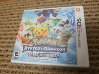 Pokemon Mystery Dungeon: Gates to Infinity (Nintendo 3DS, 2013) *TESTED* works