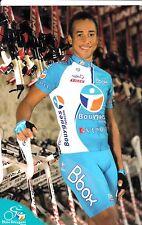 CYCLISME carte cycliste MARTIAS RONY équipe BOUYGUES TELECOM 2009