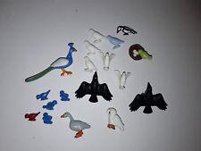Playmobil lot de 18 animaux thème volatiles