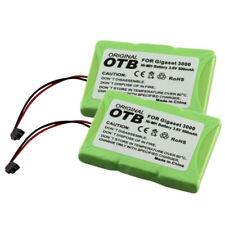 2x OTB Akku für Siemens Gigaset 3000 3010 3020 Micro T-Sinus 45M 500mAh