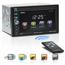 Double Din In-Dash Audio Cd Mp3 Bluetooth Stereo With Touch Screen Radio