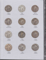 STANDING LIBERTY QUARTER COLLECTION (G)