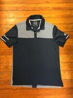Mens Adidas Climachill Golf Polo Shirt Blue Size Medium Q12