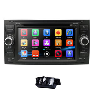 Fit Ford Transit Mk7 Head Unit Car DVD Stereo GPS Radio Sat Nav Bluetooth 3G RDS