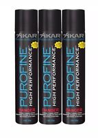 XiKAR Premium Butane Lighter Fuel Refill High Performance Altitude 1.9 oz 3 Pack
