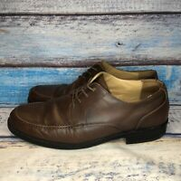 Dockers Premium Brown Leather Men's Dress Shoes Size 13 Wide 91-97717 Oxford