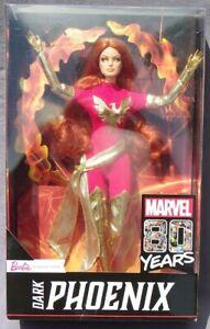 Barbie Dark Phoenix Marvel x-Men Super Hero 80 Years 2019 Mattel GLJ54 Doll