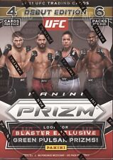 2021 PANINI PRIZM UFC CARDS FACTORY SEALED 6 PACK BLASTER BOX
