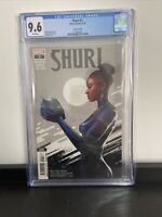 Shuri 2 2nd Second print CGC 9.6 Spratt Marvel Comics 2019 Wakanda Black Panther