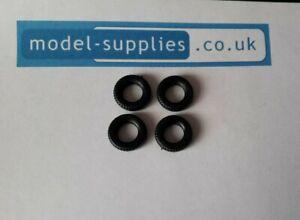Matchbox Kingsize Reproduction Black Rubber Hollow Fit Tyres fit K21, K23 & K24