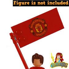 Custom LEGO Football Soccer Manchester United Flag