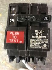 General Electric Thql2130Gf1 30 Amp 120/240V 2 Pole Ground Fault Breaker