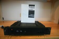 TECHNICS SE-9060 USED VINTAGE STEREO POWER AMPLIFIER WITH MANUEL,