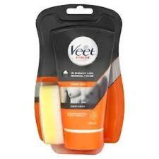 VEET MEN IN SHOWER Hair Removal Cream For the Chest + Body 150ml BRAND NEW