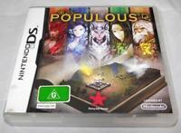 Populous DS Nintendo DS 2DS 3DS  *Complete*