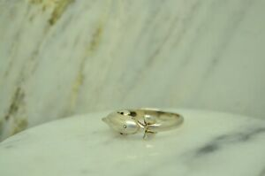 925 STERLING SILVER DOLPHIN RING SIZE 6.75  X-26330