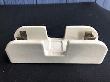 Vintage Spaulding Porcelain Fuse Holder 600v 30a 20735