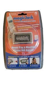 Magic Jack USB PC to Phone Jack Free Local & Long Distance 430-0302 New Sealed