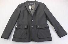 JOHN VARVATOS STAR USA Mens NAVY BLUE Wool Viscose SPORTCOAT JACKET NWT 38 $498