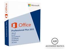 MICROSOFT OFFICE 2013 PROFESSIONAL PLUS LICENZA COMPLETA - 32/64 BIT PRODUCT KEY