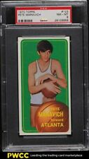 1970 Topps Basketball Pete Maravich ROOKIE RC #123 PSA 8 NM-MT