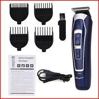 Tondeuse à cheveux électrique professionnelle Rechargeable rasoir barbe