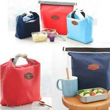 Iconic Hot-Cold Thermal Insulation Lunch Picnic Travel Pouch Bag(Navy Blue)