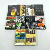 Lot 10 Cassette Tapes 90s Rap Hip Hop Big Pun Common Wyclef Jean Ras Kass SEALED