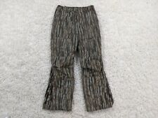 Browning Gore-Tex Pants Men Large Brown Green Camouflage Lined Hunting Outdoors