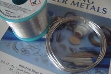 **Flux Cored Soft Silver Solder Wire Lead-Free Type 96S – 1.5mm x 3 Metres**