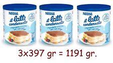 3 Pièces Lait Condensée Nestlé Idéal pour Gâteau Canette 397 Taille (1191
