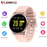 Lemfo KW19 Reloj inteligente Presión sanguínea Ritmo cardiaco Para Android IOS