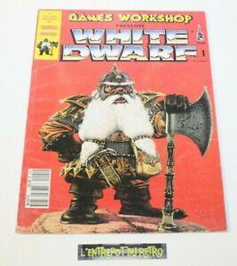 ++ magazine n°1 GAMES WORKSHOP WHITE DWARF ++