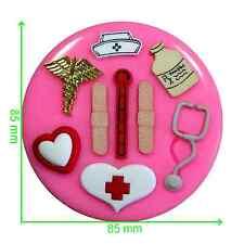 Get well soon-Infirmière / Médicaux moule médecin par fairie bénédictions