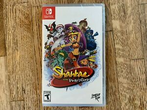 Shantae and the Pirate's Curse (Nintendo Switch NSW, 2018) new sealed LRG