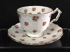Aynsley Rose English Bone China Tea Cup and Saucer