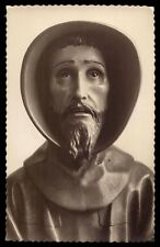 ST FRANCIS OF ASSISI Vtg HOLY CARD POSTCARD