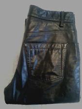 Gap Original Fit Genuine Leather Pants Women's 6