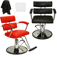 Barber Chair Hydraulic Extra Wide Salon Barber Spa Hair Styling Equipment