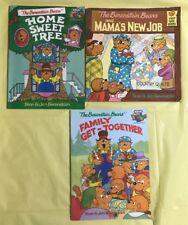 LOT OF 3 The Berenstain Bears Children's Paperback Books Stan & Jan Berenstain