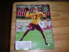 Sports Illustrated, Jason Campbell, Washington Redskins cover, August, 2009, ex