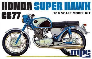 1:16 MPC *HONDA* Super Hawk CB77 Motorcycle Plastic Model Kit *MISB*