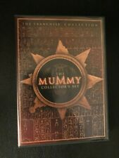 The Mummy Collector's Set Mummy Mummy Returns Scorpion King on 3 DVDS