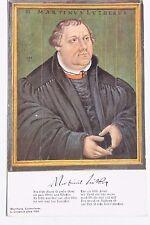 29127 Porträt AK Martin Luther Gemälde L. Cranach eine feste Burg ist unser Gott