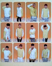 EXO K M New SUNNY10 EVENT PHOTO CARD SET (12 pcs) Fan Club Goods - Kris Luhan ..
