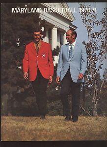 1970/1971 NCAA Basketball Maryland Yearbook NRMT