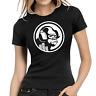 Headphones Gorilla Monkey Club Music DJ House Women Lady Damen Girlie T-Shirt