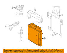 vw volkswagen oem touareg-ecm pcm ecu engine control module computer  7p0990990b